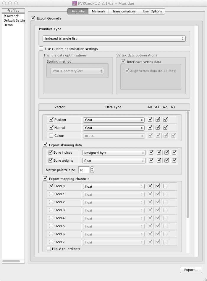 Cocos3D Importing: Generating POD Files « The Brenwill